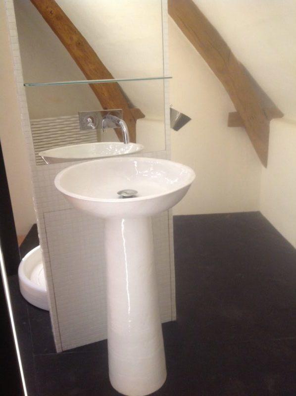 Salle de bain par Virginie Couffin
